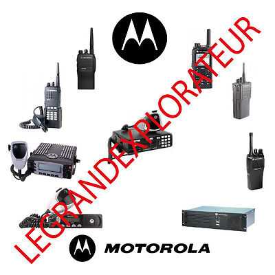 Ultimate Motorola Radio Ham CB  Operation Repair Service manual   390 PDF on DVD