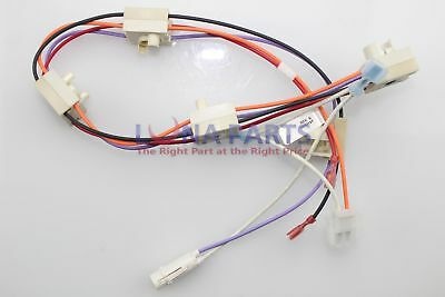 Genuine OEM WB18T10387 GE Cooktop Harness SWITCH
