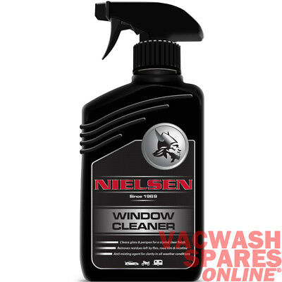 Nielsen Window Cleaner 500Ml- Effective Smear Free Glass & Perspex Cleaner