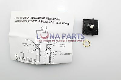 Genuine OEM Broan SR561138 Light Switch