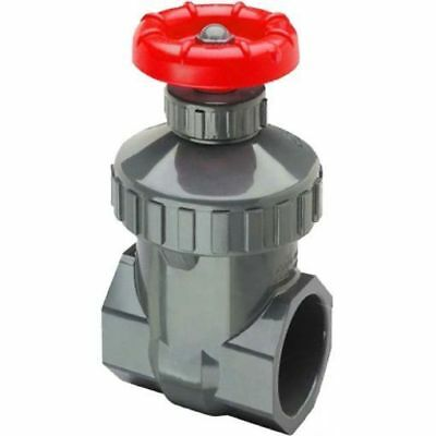 High Quality PVC Gate Valves Solvent Weld Metric 20 25 32 40 50 63 mm Gatevalves