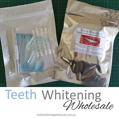 New Professional DIY Teeth Whitening Home Kit - 6% HP Hydrogen Peroxide Bleach