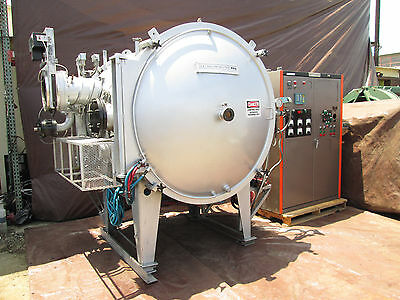 "Gsa Industries Vacuum Furnace With Controls And 56"" X 40"" X 36"" Id Capacity"