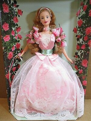 Rose Barbie Doll-A Garden of Flowers-1st in Series-Collector Edition NEW In Box