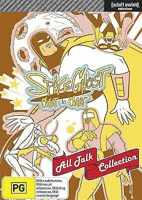 Space Ghost Coast To Coast - All Talk Collection (DVD, 2012, 9-Disc Set) - R4