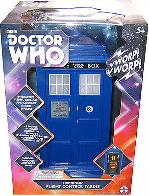 """Doctor Who 5"""" Scale Electronic Flight Control 12th Dr TARDIS Action Figure"""