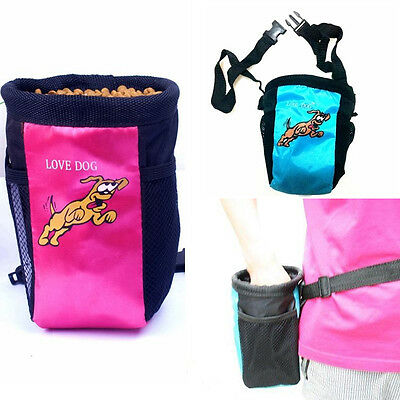 Pet Dog Puppy Training Treat Snack Bag Feed Bait Pouch Belt New FORM Hot cheap