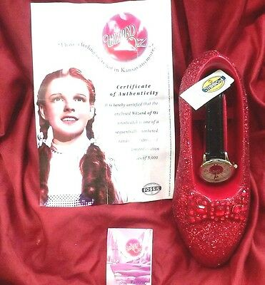 FOSSIL WIZARD Of OZ WATCH & RUBY LIMITED EDITION