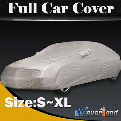 Car Cover UV Protection Antifouling Snow Dust Rain Out/Indoor Breathable S-XL