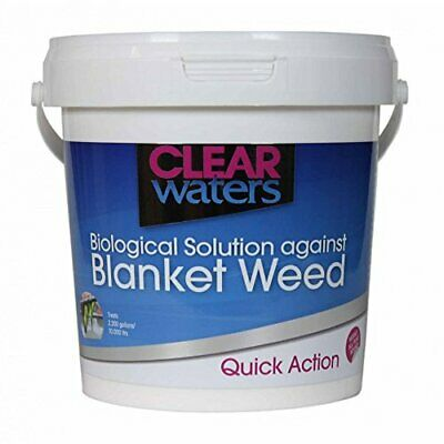 Nishikoi Clear Waters 1L - Fish Pond Blanketweed Filament Algae Treatment 1000ml