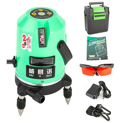5 Line 360 Continuously Rotary Laser Level  Automatic Leveling Laser Light