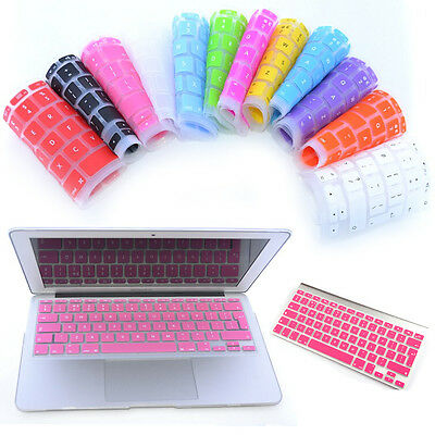 "Silicone Keyboard Skin Cover For Laptop Macbook Pro Air Retina 13"" 15"" UK EU"