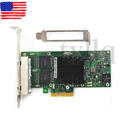 NEW Intel I350-T4 PCI-Express PCI-E Four RJ45 Gigabit Ports Server Adapter NIC