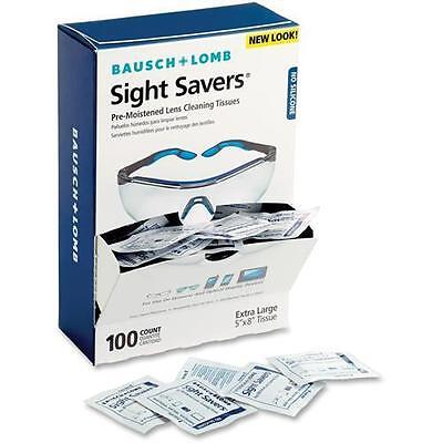 Bausch & Lomb Sight Savers Pre Moistened Lens Cleaning Tissue - 100 Per B 8574GM