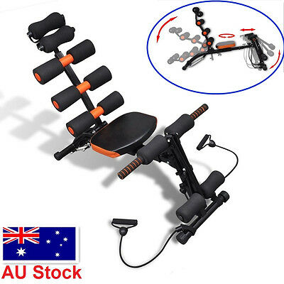 Abdominal AB Exercise Machine Fitness Home Gym Core Crunch Rocket Wonder Master