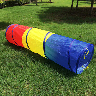 Colorful Kid's Educational Game Crawl Tunnel Tube 180 * 48cm Tents Toys