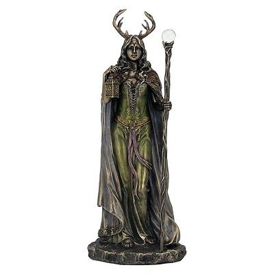 Keeper of The Forest - Elen of the Ways Bronze Resin Figurine By Nemesis Now