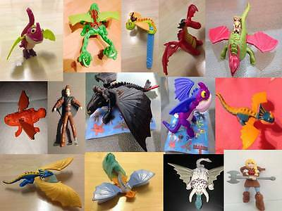 How to Train Your Dragon 2 UK Various Mcdonalds Toy Figure Happy Meal