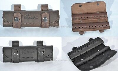 Real Leather Belt Holder Bullet Ammo Pouch -Holds 20 rounds .17 HMR .22 LR & LRM