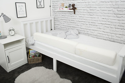The Universal XL Bed Guard Bumper with cover- By Acosy Bumpers.
