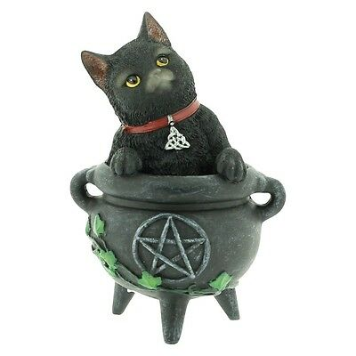 Smudge - Cats of the Coven Figurine - Nemesis Now