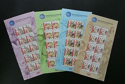 Malaysia International Definitive 2016 Tiger Fruit Costume (sheetlet) MNH *low