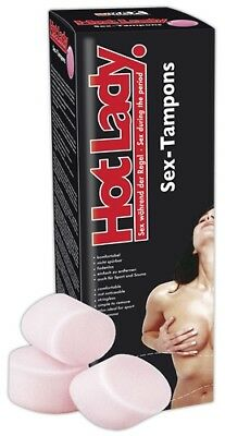 Soft Tampons Hot Lady SexMAX Hot 8 Stück