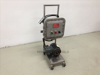 HYDRO DYNAMICS explosion proof electric panel XP motor XJF121206 1.5HP LR69304
