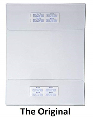 6 Pack Universal Adhesive Mount Sign Holder Displays wholesale lot 8.5 x 11
