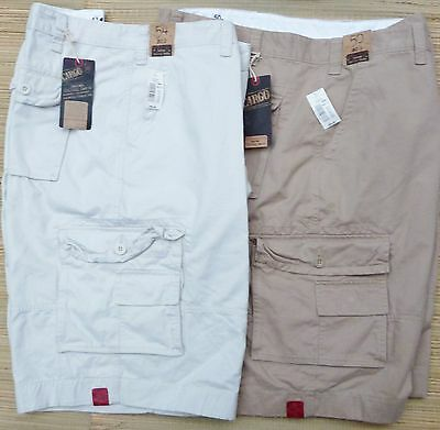 d99e185c87 Roundtree & Yorke Big & Tall Mens Washed Cotton Utility Cargo Shorts ...