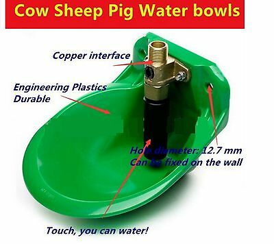 ✔ ✔ ✔ Cow cattle horse goat sheep large animal automatic waterter drinker  ✔ ✔ ✔