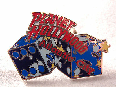 Planet Hollywood Atlantic City Lapel Pin