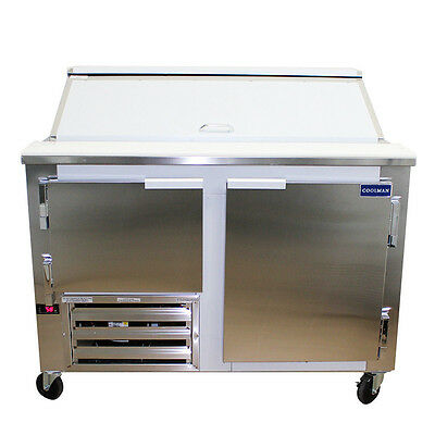 Coolman  Commerical 1-1/2 Door Refrigerated Sandwich Prep Unit 48""
