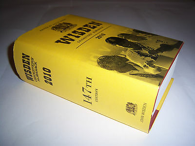 Wisden Cricketers' Almanack 2010 - Original Hardback - Cricket Annual / Book
