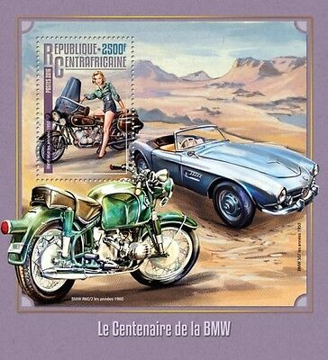 Z08 CA16206b CENTRAL AFRICA 2016 BMW MNH