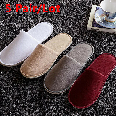 5pair/lot Sadian Breathable Disposable Slippers Hotel Slippers SPA Slippers SL04