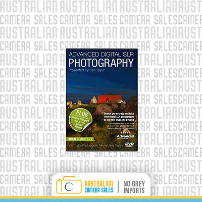 Karl Taylor - Advanced Digital SLR Course DVD