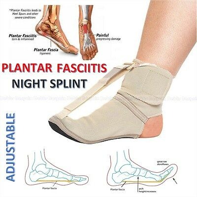 Adjustable Foot Brace Plantar Fasciitis Toes Sport Pain Fascia Night Toe Splint