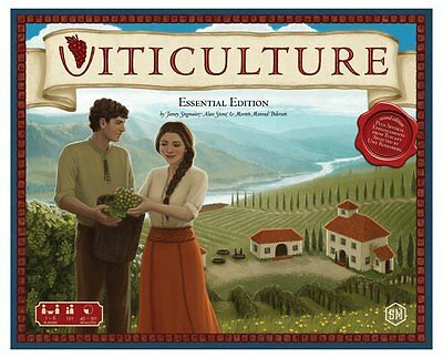 Viticulture: Essential Edition Board Game - Brand New!