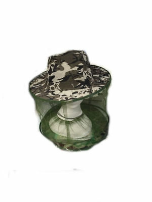 2 x  Wide Brim Hat with mosquito net One Size Fits Most