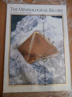 MINERALOGICAL RECORD MAGAZINE Volume 36 #3  May-June 2005