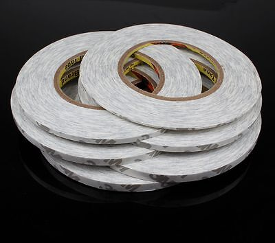 50M 2mm-5mm Strong Double Sided Adhesive Tape Sticky for Cellphone Screen LCD