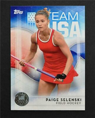 NM-MT 2016 Topps U.S Olympic Team Silver #53 Margaux Isaksen