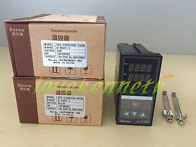 Digital PID Temperature Controller REX-C400 Thermocouple Input Relay/SSR Output