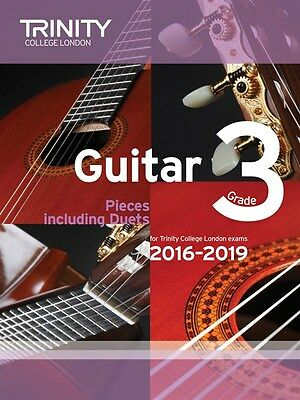 Trinity College Guitar Pieces Grade 3 from 2016-19 - Same Day P+P