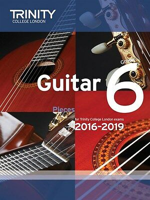 Trinity College Guitar Pieces Grade 6 from 2016-19 - Same Day P+P