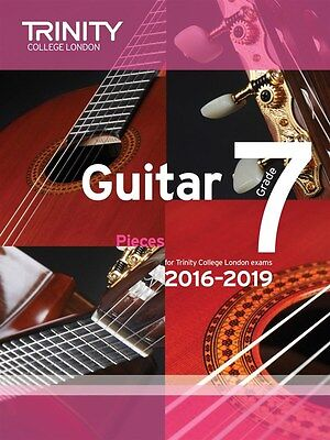 Trinity College Guitar Pieces Grade 7 from 2016-19 - Same Day P+P