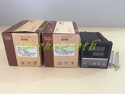 Digital PID Temperature Controller REX-C700 Thermocouple Input Relay/SSR Output