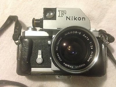 Collectible Nikon F Photomic With  Lenses