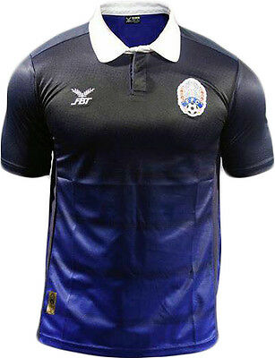 100% Authentic 2016 Cambodia National Football Soccer Team Official Jersey Shirt